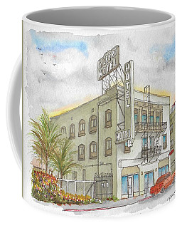 Gilbert Hotel In Hollywood, California Coffee Mug
