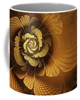 Gilded Flower Coffee Mug