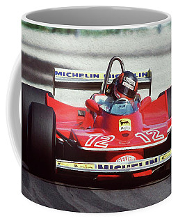 Gilles Villeneuve, Ferrari Legend - 01 Coffee Mug