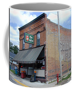 Coffee Mug featuring the photograph Gina's Pies Are Square by Mark Czerniec