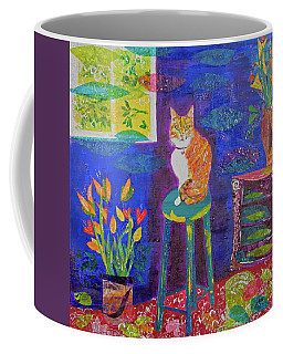 Ginger The Cat Coffee Mug