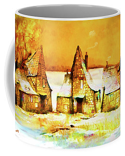 Gingerbread Cottages Coffee Mug