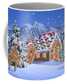 Gingerbread House Coffee Mug