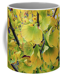 Ginkgo Gold Coffee Mug