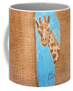 Giraffe  Coffee Mug by Ann Michelle Swadener
