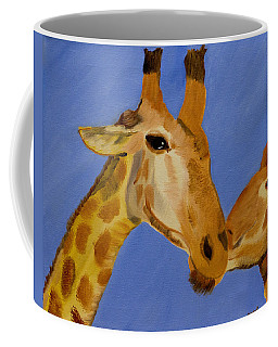 Giraffe Bonding Coffee Mug