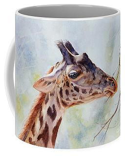 Giraffe Coffee Mug by Bonnie Rinier