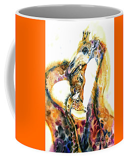 Giraffe Family Coffee Mug