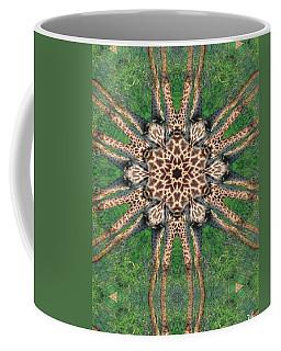 Giraffe Mandala II Coffee Mug by Maria Watt