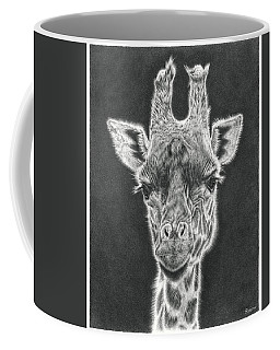 Giraffe Pencil Drawing Coffee Mug