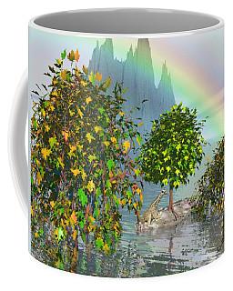 Giraffe Rainbow Heaven Coffee Mug