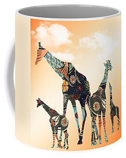 Giraffe Stroll Coffee Mug