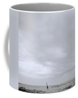Giraffe Under Big Sky Coffee Mug by Shaun Higson