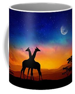 Giraffes Can Dance Coffee Mug by Iryna Goodall