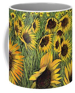 Girasoli Gialli Coffee Mug