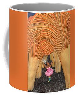 Girl Bear In Galoshes Coffee Mug