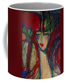 Girl In Darkness Coffee Mug
