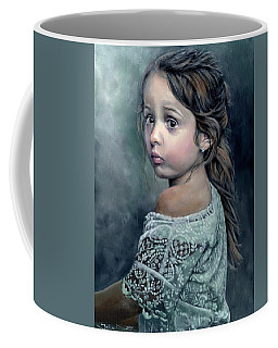 Girl In Lace Coffee Mug