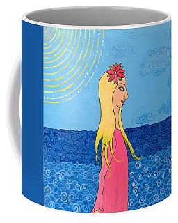 Girl In The Water Coffee Mug