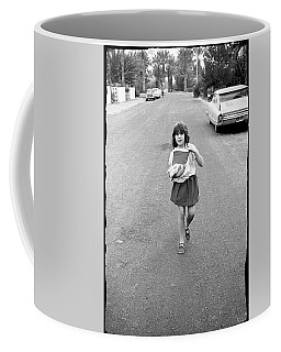 Girl On 13th Street, 1971 Coffee Mug
