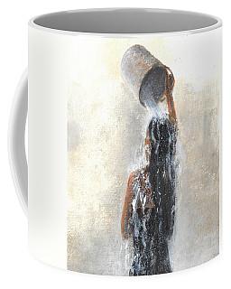 Girl Showering Coffee Mug