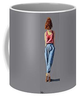 Girl Standing Coffee Mug