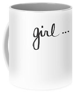 Girl Talk- Art By Linda Woods Coffee Mug