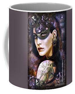 Girl With Dragon Tattoo Coffee Mug