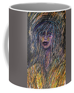 Girl With Hat Coffee Mug
