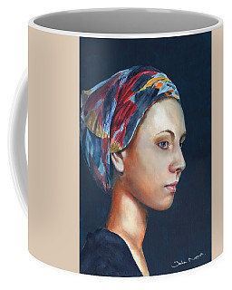Girl With Headscarf Coffee Mug
