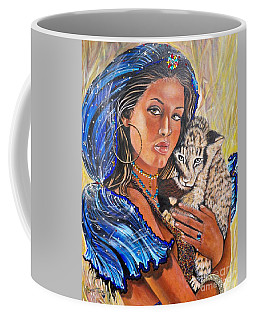 Independent Indian Girl.              From The Attitude Girls  Coffee Mug