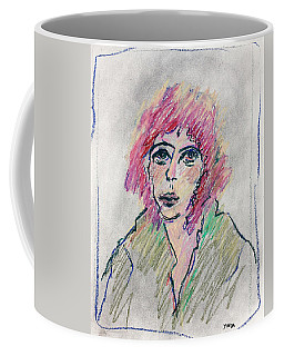 Girl With Pink Hair  Coffee Mug