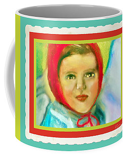 Girl With Red Hat II Coffee Mug