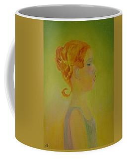 The Girl With The Curl Coffee Mug