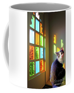 Girlie Goes To Church Coffee Mug