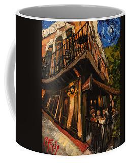 Girls Night At Cotton Row Coffee Mug by Carole Foret