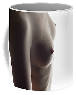 Girls Torso In Front Of Window Coffee Mug