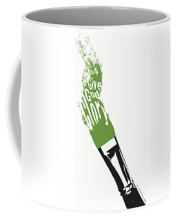 Coffee Mug featuring the digital art Give God Glory  by Christopher Marion Thomas