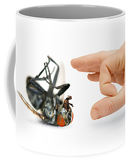 Give Pests The Flick Coffee Mug