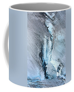 Coffee Mug featuring the photograph Glacial Abstract by Kristin Elmquist