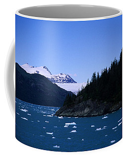 Glacial Ice Floats In The Prince Coffee Mug