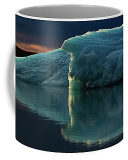 Glacial Lagoon Reflections Coffee Mug