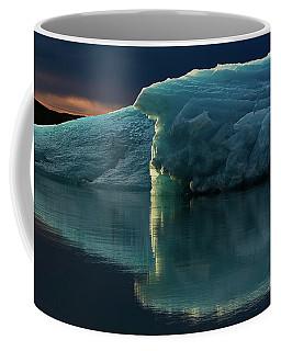 Glacial Lagoon Reflections Coffee Mug