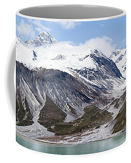 Glacier Bay Coastline Coffee Mug