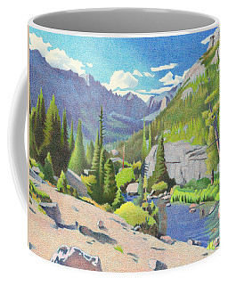 Glacier Gorge Coffee Mug