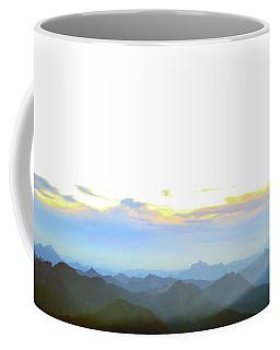 Glacier Peak At Sunrise Coffee Mug