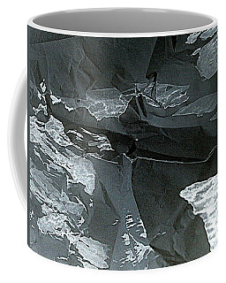 Coffee Mug featuring the painting Glacier Retreat by Nancy Kane Chapman