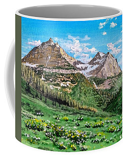 Glacier Summer Coffee Mug