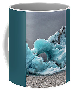 Glacier With Hole Coffee Mug
