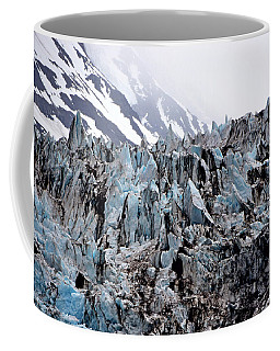 Glaciers Closeup - Alaska Coffee Mug